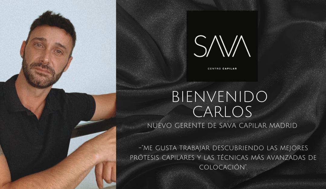 Le damos la bienvenida a Carlos, nuevo gerente de SAVA Capilar Madrid